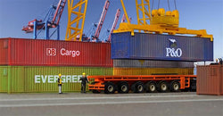 Kibri 10922 6 x 40 ft containers