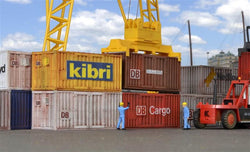 Kibri 10924 8 x 20 ft containers