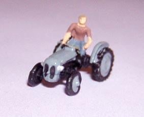 Painted Fergi Tractor - N Gauge