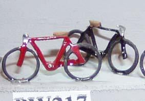 Painted Bikes - OO Gauge