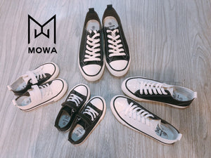 mowa white and black shoes