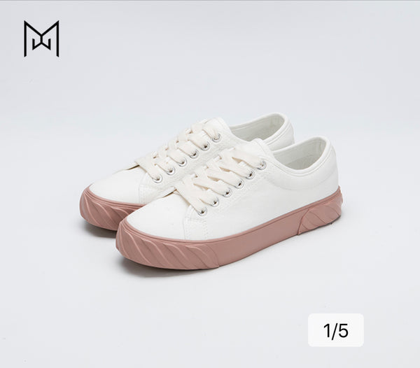 Mowa Dirty-Angel Ladies's Canvas Sneakers