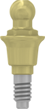 Ball Attachment Anchor - Conical - MoreDent