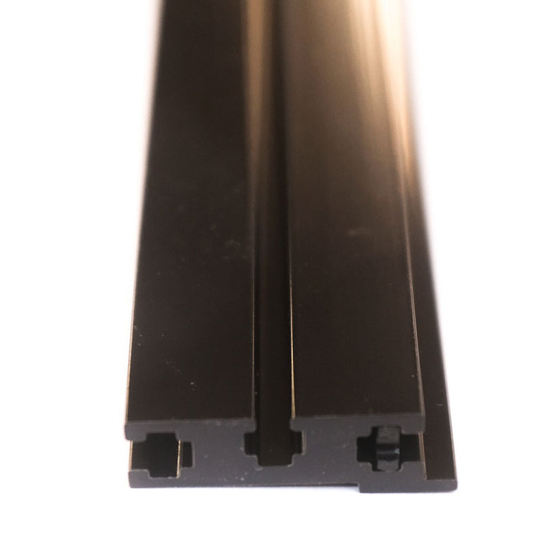Black Eurorack Rails - 168HP (pair)