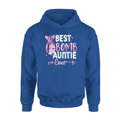 Best F Bomb Auntie Ever - Standard Hoodie - S / Royal