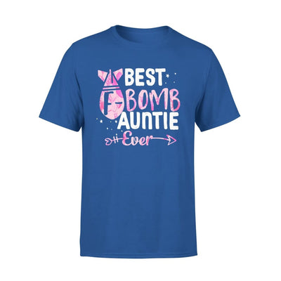 Best F Bomb Auntie Ever - Standard Tee - S / Royal