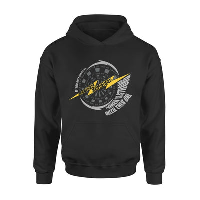 Electrical Engineer Definition If You Only Understand Power Is Strong With This One - Standard Hoodie - S / Black