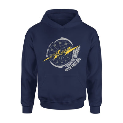 Electrical Engineer Definition If You Only Understand Power Is Strong With This One - Standard Hoodie - S / Navy
