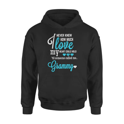 Grammy Gift How Much Love My Heart Could Hold Lovely Grandma - Standard Hoodie - S / Black