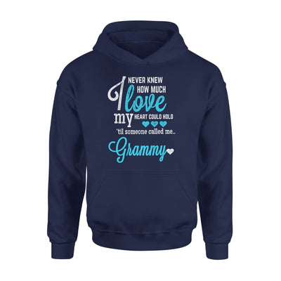Grammy Gift How Much Love My Heart Could Hold Lovely Grandma - Standard Hoodie - S / Navy