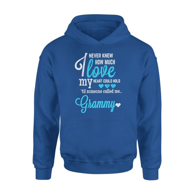 Grammy Gift How Much Love My Heart Could Hold Lovely Grandma - Standard Hoodie - S / Royal