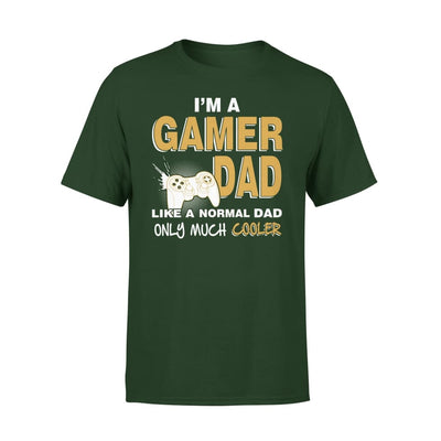 Im A Gamer Dad Just Like Normal Only Much Cooler - Premium Tee - XS / Forest