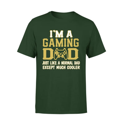 Im A Gaming Dad Just Like Normal Except Much Cooler - Premium Tee - XS / Forest