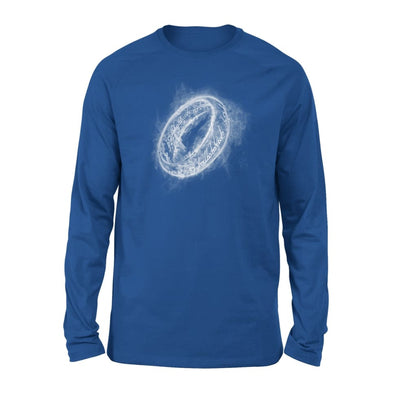 Lord Rings One of Ring Cool Graphic Smoky The Best Gift for Fans - Standard Long Sleeve - S / Royal