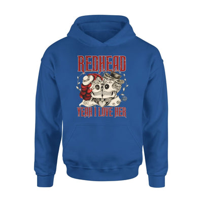 Redhead Say Yeah I Love Her Gift for Boyfriend Husband Hubby Husb - Standard Hoodie - S / Royal