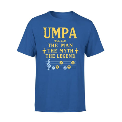 Umpa The Man Myth and Legend - Gaming Dad Grandpa Fathers Day Gift For - Premium Tee - XS / Royal