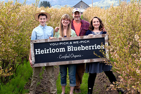 Bow Hill Blueberries family