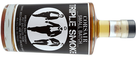 Triple Smoke Whiskey made by Corsair Artisan Distillery in Bowling Green, KY