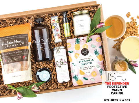 Wellness In A Box Gift Set - Best Valentine's Day gift for Myers-Briggs Type ISFJ