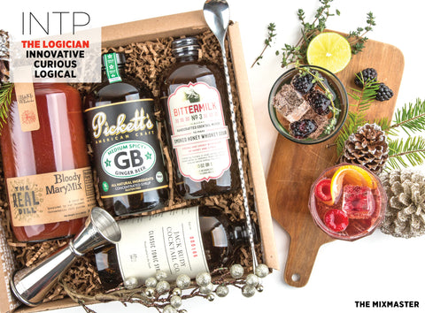 The Mixmaster Cocktail Kit Gift Box - Best Valentine's Day gift for Myers-Briggs Type INTP