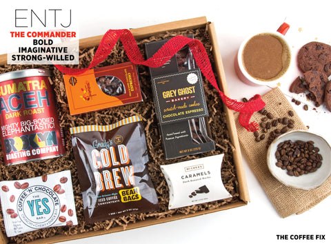 The Coffee Fix Gift Box - Best Valentine's Day gift for Myers-Briggs Type ENTJ