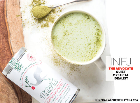Mineral Alchemy Matcha Tea - Best Valentine's Day gift for Myers-Briggs Type INFJ