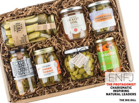 The Big Dill Pickles Gift Set - Best Valentine's Day gift for Myers-Briggs Type ENFJ