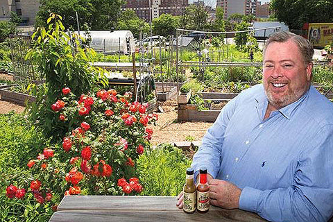Small Axe Peppers founder John Crotty