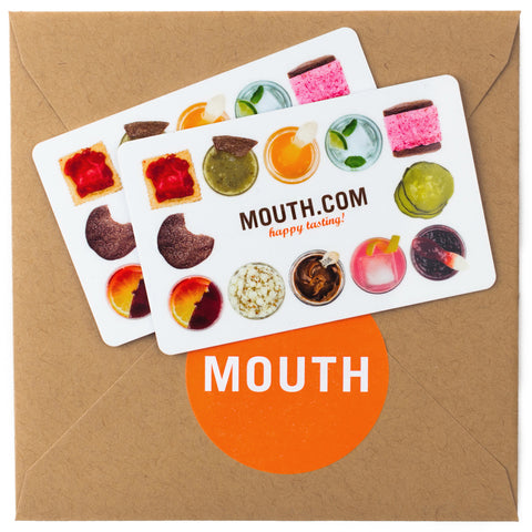 Mouth gourmet food specialty food gift cards mouth physical gift card negle Gallery