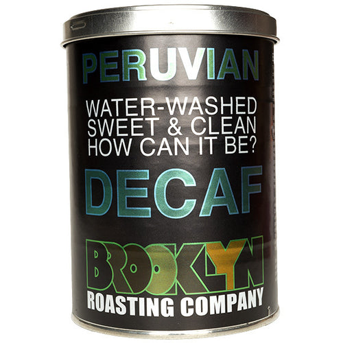 Brooklyn Roasting Company Decaf Peruvian whole coffee beans