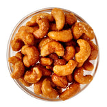 Salted Honey Lemon Cashews