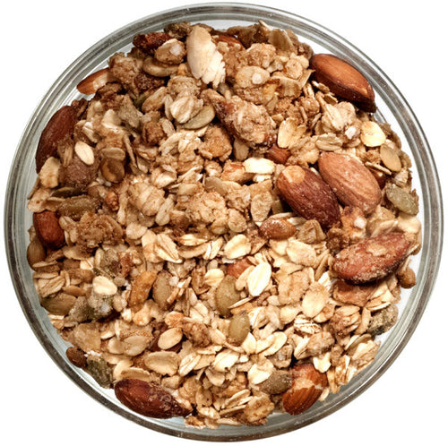 lightly sweetened gluten-free granola