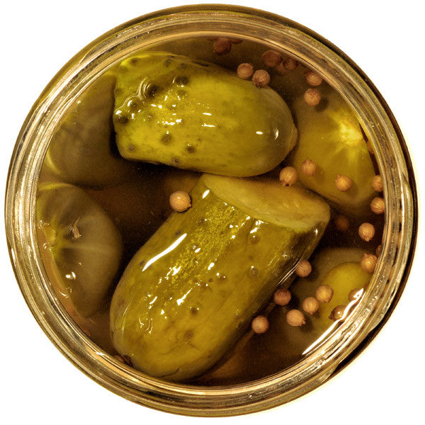 Whiskey Sour Pickles - Atlanta Blogger