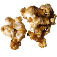 caramel popcorn with dark and stormy cocktail flavors