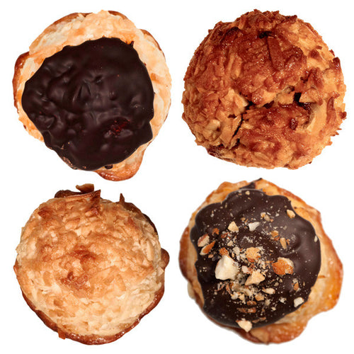 assortment of Danny's coconut macaroons
