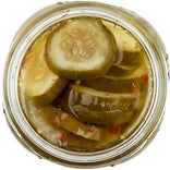 Spicy Dill Pickle Slices