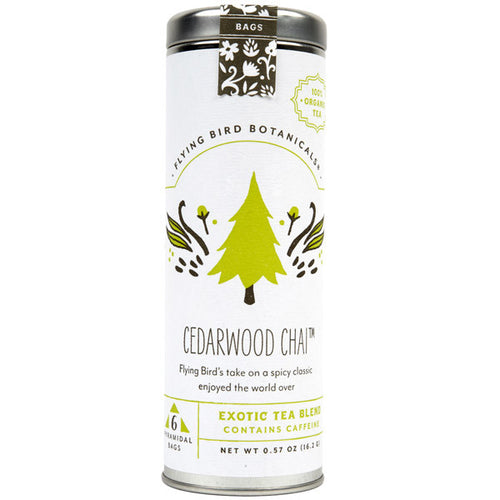 Organic Cedarwood Black Chai Tea