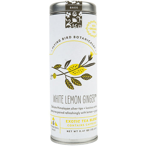 White Lemon Ginger Tea