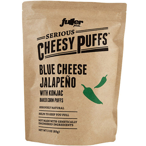 Blue Cheese Jalapeño Cheesy Puffs