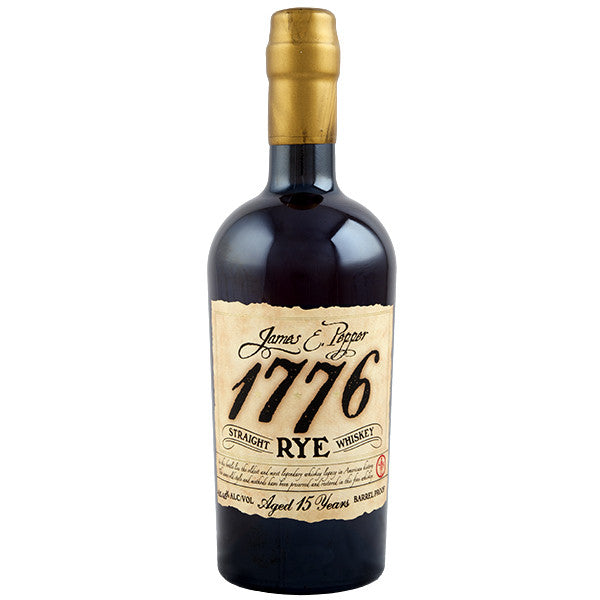 James E. Pepper 1776 Rye 15 Years