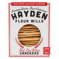 Red Fife Heritage Grain Crackers