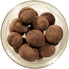 Chocolate-covered hazelnuts
