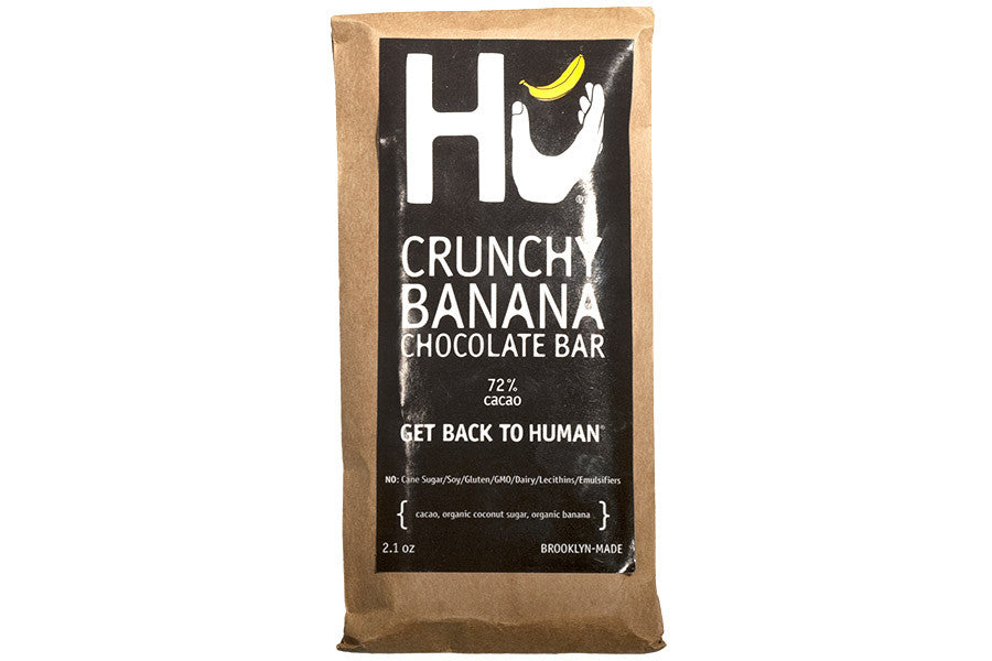 Crunchy Banana Chocolate Bar Made By Hu Kitchen Mouth