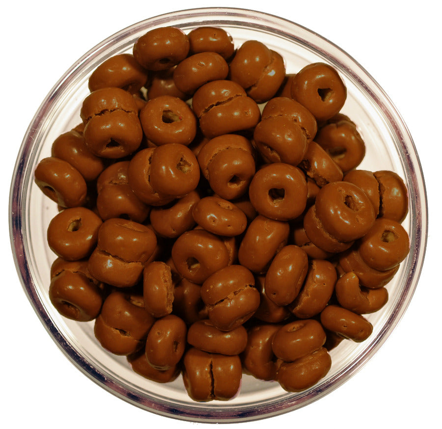 Chocolate-Covered Cheerios made by Jacques Torres – MOUTH