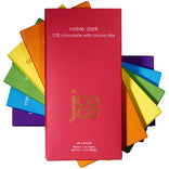 JCoCo rainbow chocolate bar set