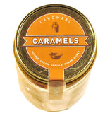 jar of Landmarc individually wrapped caramels
