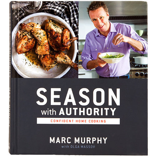 """Season with Authority: Confident Home Cooking"" (signed copy)"