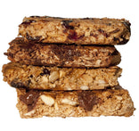 Peanut Butter Banana Chocolate Granola Bar