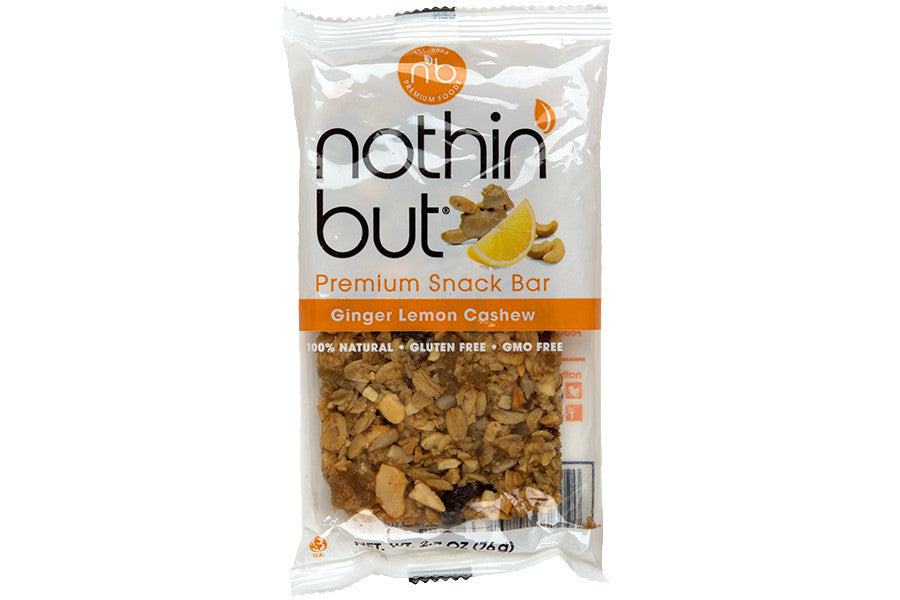 Ginger Lemon Cashew Granola Bar made by Nothin' But – MOUTH