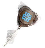 NuNu Heart Chocolate Lollipop